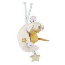 CANPOL BABIES Mazlíček hebký s hrací skříňkou Mouse