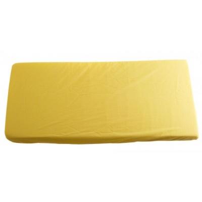 KAARSGAREN-2v1 Žluté prostěradlo 200x200cm a chránič matrace