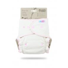Petit Lulu-Růžová (froté) maxi/noční plena pat