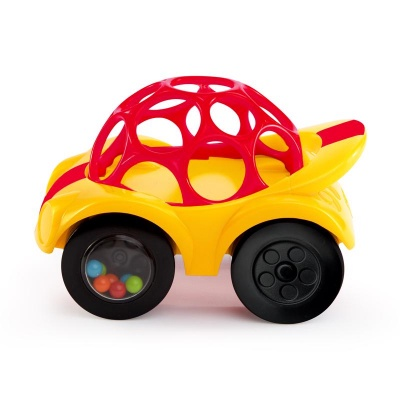 OBALLL Hračka autíčko Oball 3m+, červené
