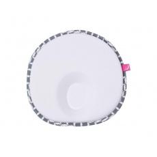 MOTHERHOOD Polštářek ergonomický stabilizační pro novorozence Grey Classics 0-6 m