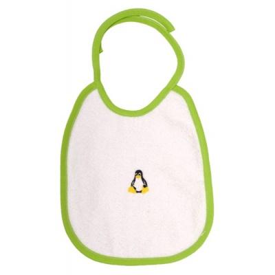 KAARSGAREN-Bryndáček s tučňákem zelený lem