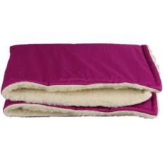 KAARSGAREN-Fialová zimní deka merino