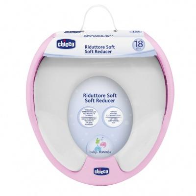 Chicco Adaptér na WC Soft růžový