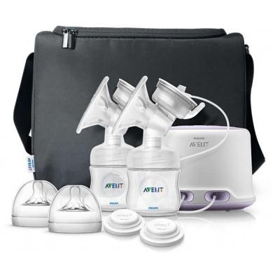 Philips AVENT Odsávačka mateřského mléka Natural elektronická DUO