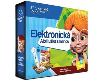 Albi-Kouzelné čtení Elektronická tužka a kniha Hravá angličtina