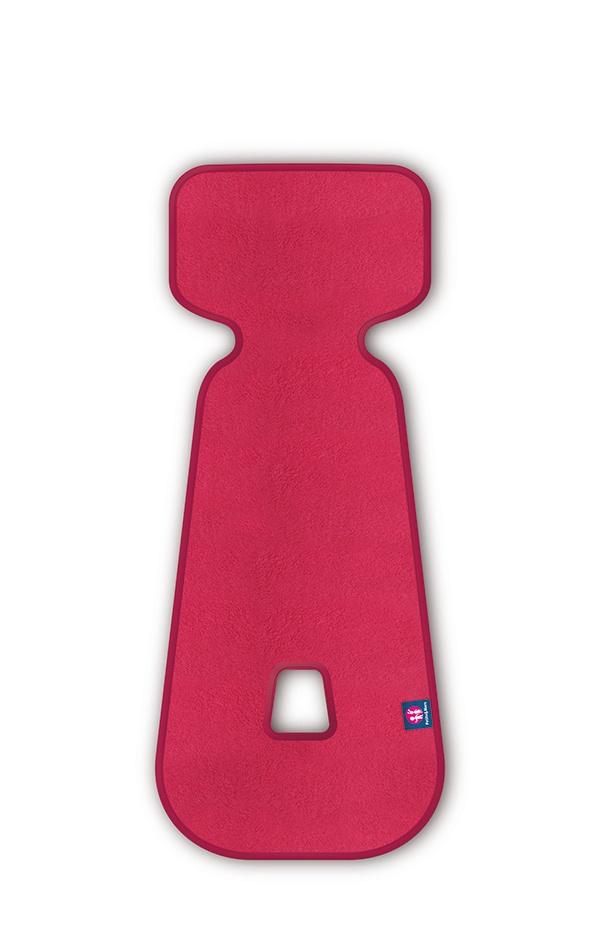 Petite&Mars Vložka do autosedačky 3D Aero růžová 9-18 kg Petite&Mars