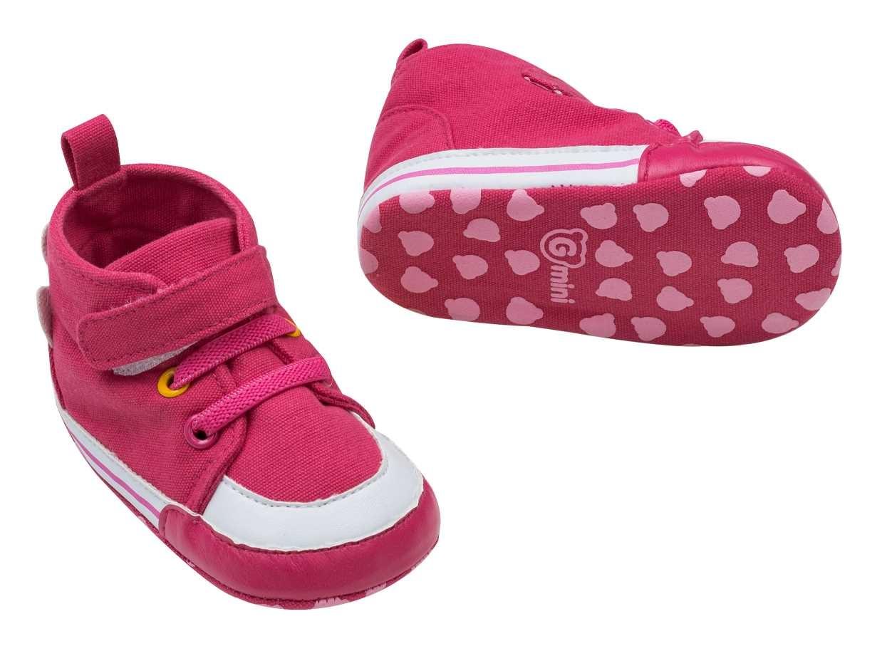 Gmini Capáčky kojenecké tenisky růžová děvče 3 6d3b266c96