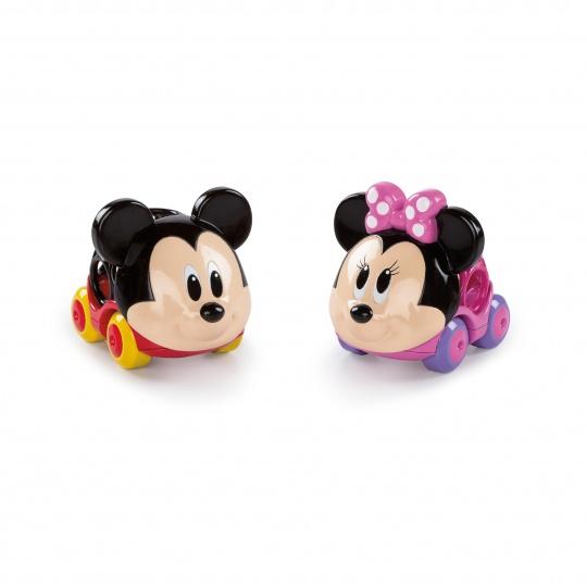 DISNEY BABY Autíčka Mickey Mouse & Friends Go Grippers™ 2 ks, 12m+