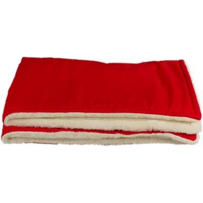 KAARSGAREN-Červená zimní deka merino