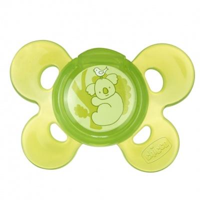 Chicco Šidítko Physio Comfort, silikonové, 12m+, zelené, 1ks