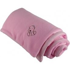 KAARSGAREN-Zateplená dětská deka růžová - doprodej
