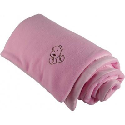 KAARSGAREN-Zateplená dětská deka růžová