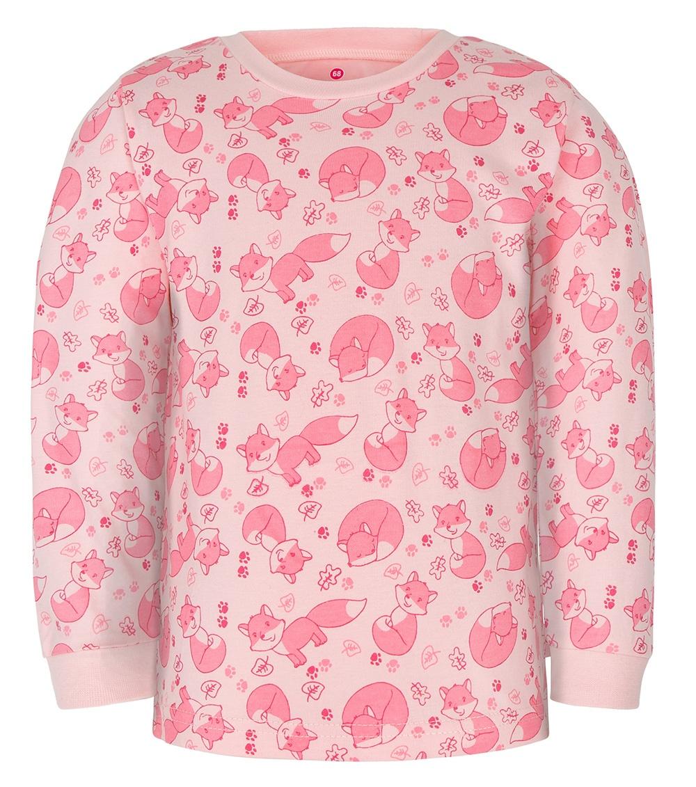 Gmini PRIMA-pyžamo dvoudílné LIŠKA A růžová 080
