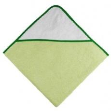 KAARSGAREN-Osuška s kapucí zelená