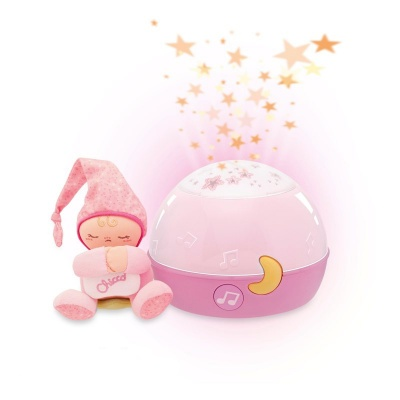 Chicco Projektor GoodNight Stars - růžový 0m+