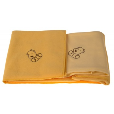 KAARSGAREN-Sada dvou dek s pejskem žlutá