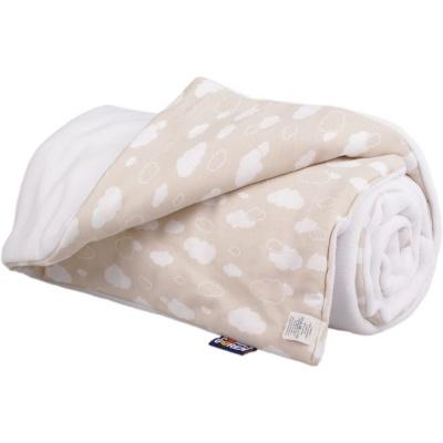KAARSGAREN-Zateplená dětská deka bílé mráčky