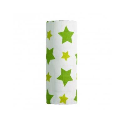 T-Tomi Bambusová osuška, GREEN STARS / ZELENÉ HVĚZDIČKY, 1ks