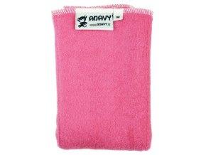 13728c508a60 Anavy-Bambusová vícevrstvá plenka růžová vel. M