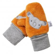 Little Angel-Rukavice s palcem MAZLÍK Outlast® - medová Velikost: 1