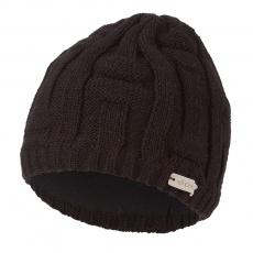 Little Angel-Čepice pletená pánská Outlast ® - černá Velikost: 6 | 54-57 cm