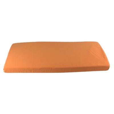 KAARSGAREN-Oranžové prostěradlo biobavlna 70 x 140 cm