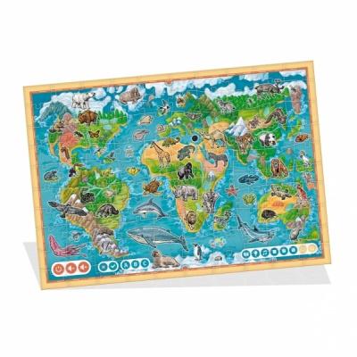 Albi-Kouzelné čtení Puzzle Planeta zvířat