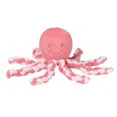 První hračka miminka chobotnička PIU PIU Lapidou pink coral 0m +
