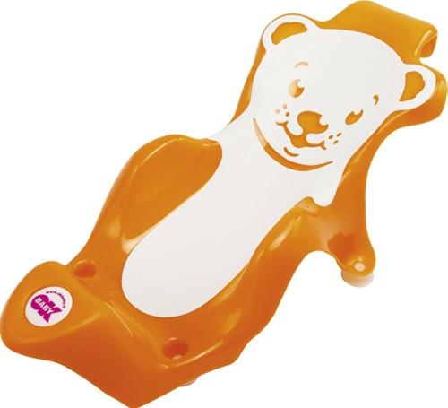 OK Baby Lehátko do vaničky Buddy oranžová 45