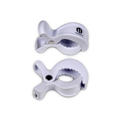 PETITE&MARS Kolíček Peg na kočárek (2 ks) White