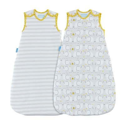 Gro Vak spací Elephant Love - Wash and Wear - Twin pack 1 Tog 0-6m