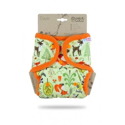 Petit Lulu-Svrchní kalhotky jednovelikostní pat-Lesní zvířátka