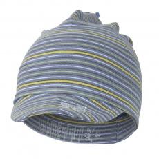 Little Angel-Kšiltovka smyk Outlast® - pruh denim úzký Velikost: 4 | 45-48 cm