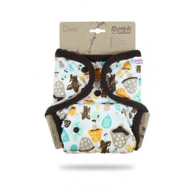 Petit Lulu-Svrchní kalhotky jednovelikostní pat-Houbičky