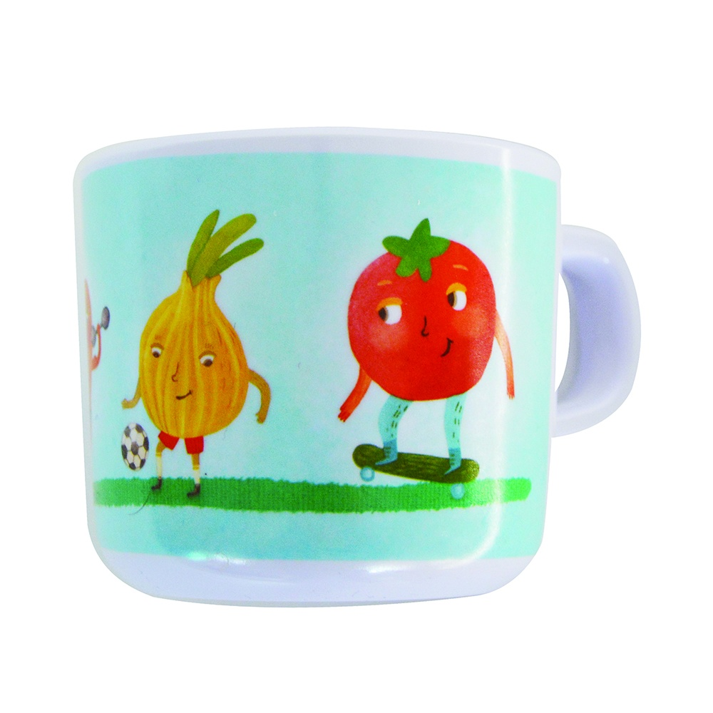 Petite&Mars Hrnek melaminový - zelenina Petite&Mars