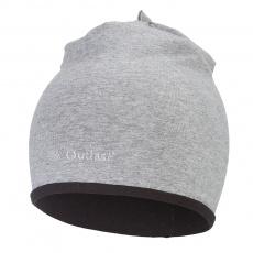 Little Angel-Čepice podšitá Outlast® - šedý melír/černá Velikost: 3   42-44 cm