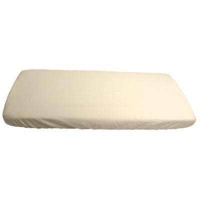 KAARSGAREN-Bílé prostěradlo bavlněné plátýnko 70 x 160 cm