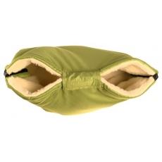 KAARSGAREN-Merino rukávník zelený z ovčí vlny