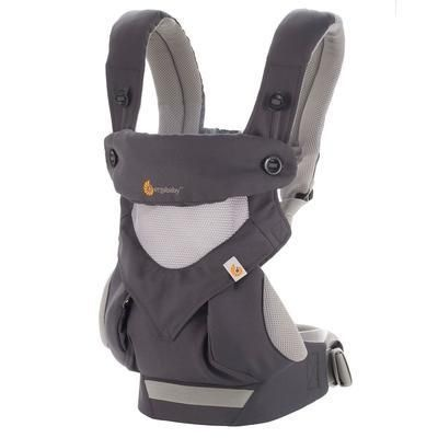 Ergobaby- Nosítko 360-Cool Air Carbon Grey