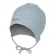 Little Angel-Čepice smyk zavazovací Outlast ® - pruh mentolový Velikost: 0 | 33-35 cm