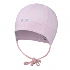 Little Angel-Čepice tenká zavazovací plochý šev Outlast® - růžová baby Velikost: 0 | 33-35 cm