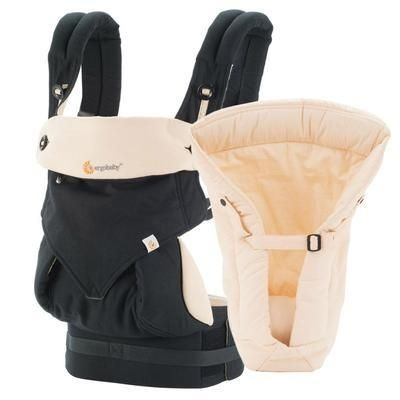 Ergobaby- Nosítko Set Bundle 360- Black/Camel
