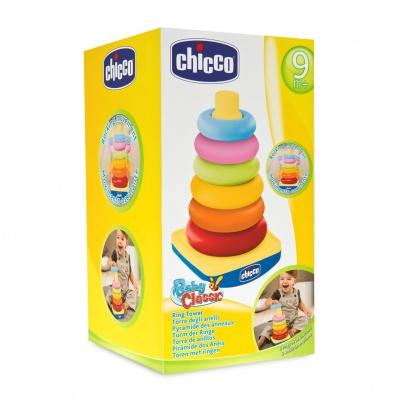Chicco Hračka kroužky na kuželu 6m+
