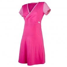 Little Angel-Noční košile tenká Outlast® - pruh malinový Velikost: XL