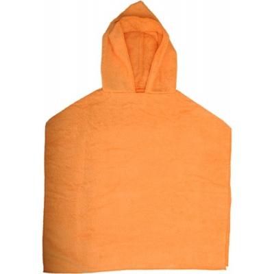 KAARSGAREN-Froté pončo oranžové