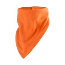 Little Angel-šátek fleece ANGEL-oranžová
