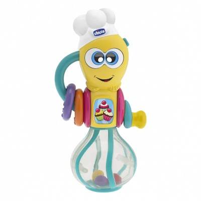 Chicco Chrastítko kuchtík robot elektronický