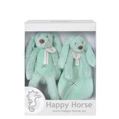 Happy Horse - králíček Richie SET tyrkys
