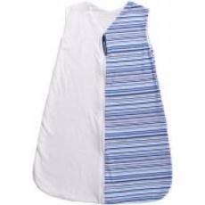 KAARSGAREN-Letní spací pytel bambus modré proužky 90 cm